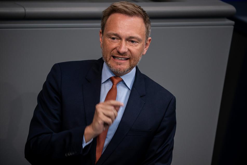 Christian Lindner, Fraktionsvorsitzender der FDP.