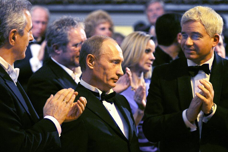 Wladimir Putin (68, M.) und Hans-Joachim Frey (56, r.) verstehen sich. Ob der russische Staats-Chef am Samstag kommt, ist nicht bekannt.