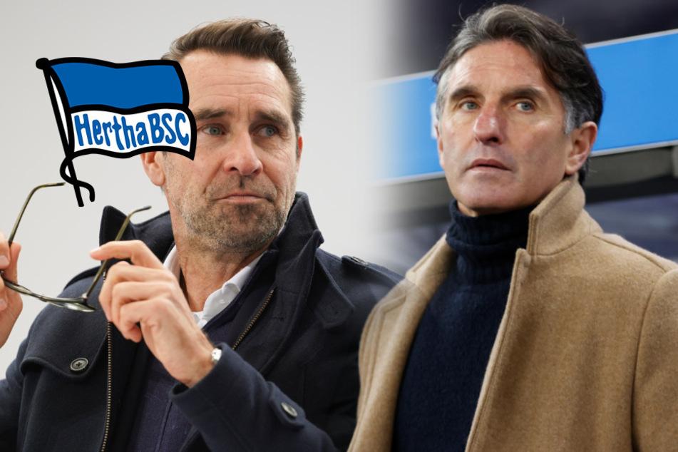 Hertha zurück in der Krise: Preetz gibt Labbadia Job-Garantie