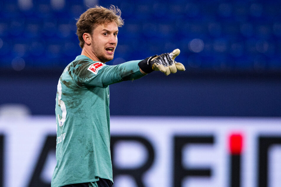 Schalkes neue Nummer eins, Frederik Rönnow (28), zeigte gegen den 1. FC Union Berlin eine starke Leistung.