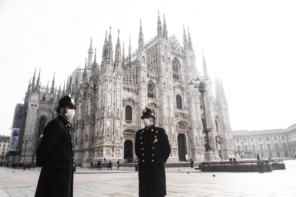 Noch im November 2020 wirkte Mailand wie ausgestorben. Das dürfte sich bald wieder ändern.