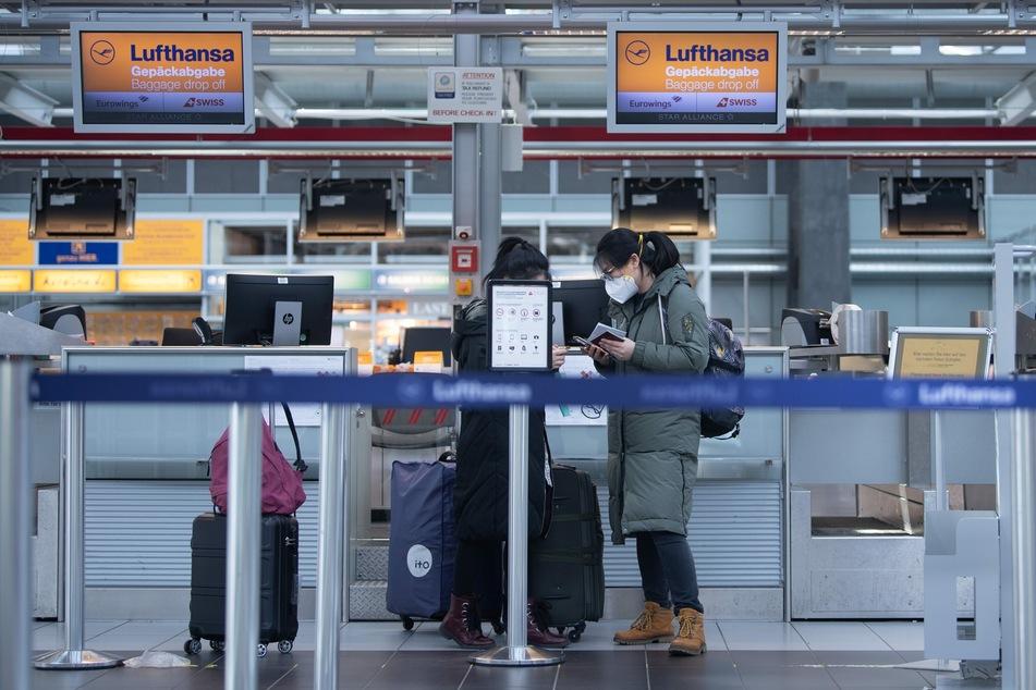 Aufgrund der Corona-Pandemie fielen 2020 zahlreiche Flüge auch ab dem Flughafen Dresden aus.