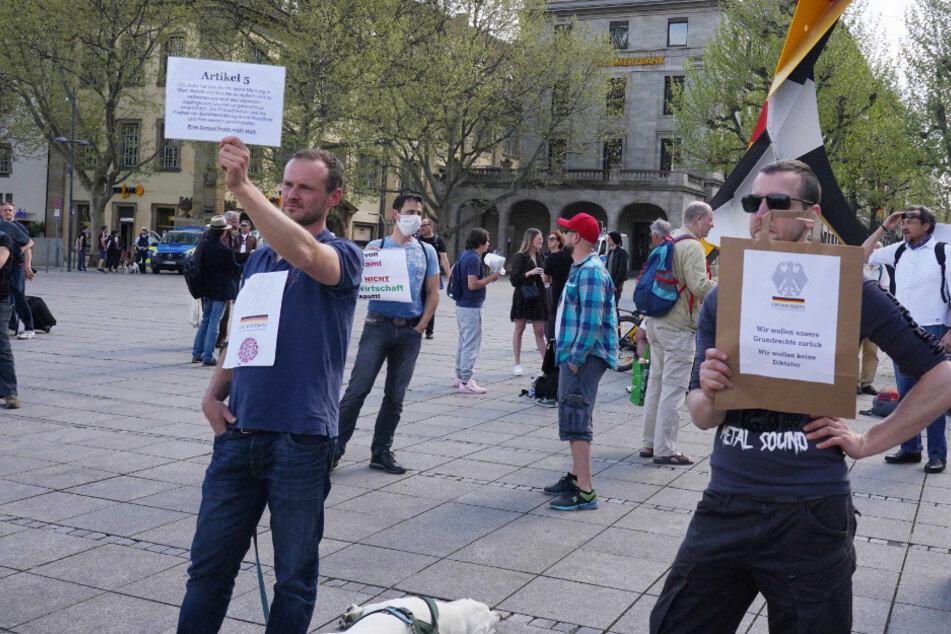 Demo trotz Corona: So lief die Versammlung in Stuttgart