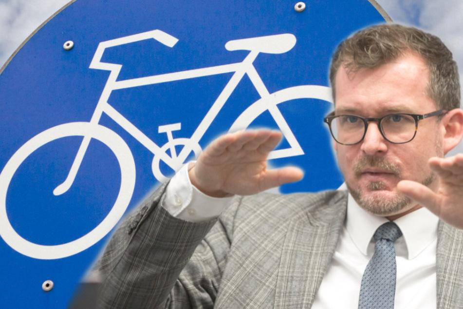 Für die Radler: Rathaus will Autofahrern eine Spur wegnehmen