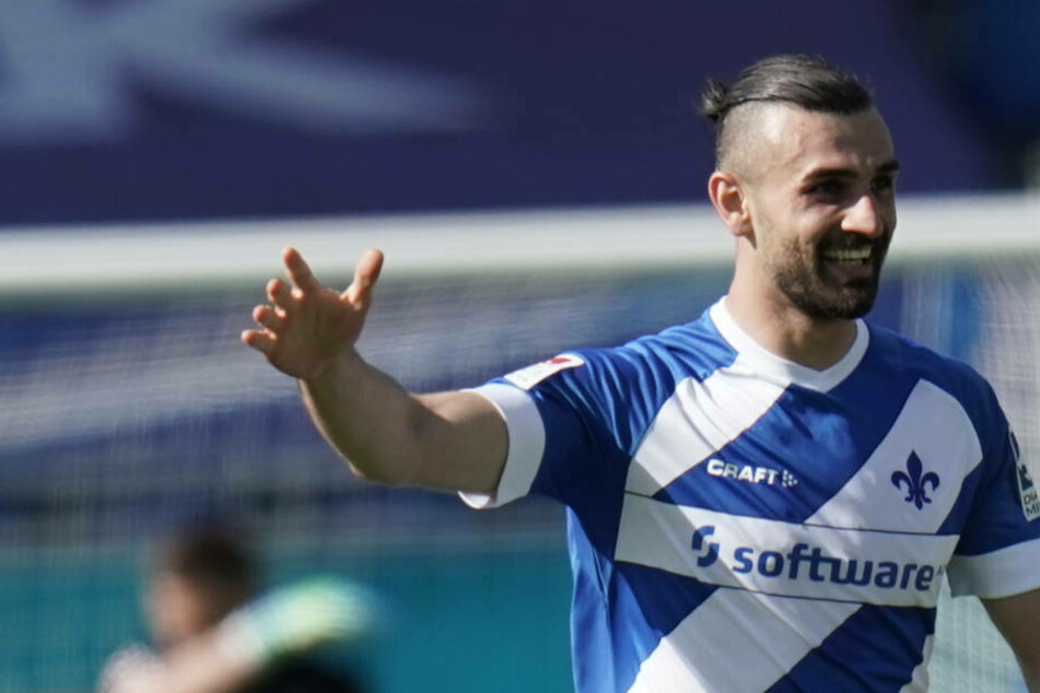 27 Treffer erzielte Serdar Dursun (29) in der abgelaufenen Saison für den SV Darmstadt 98.