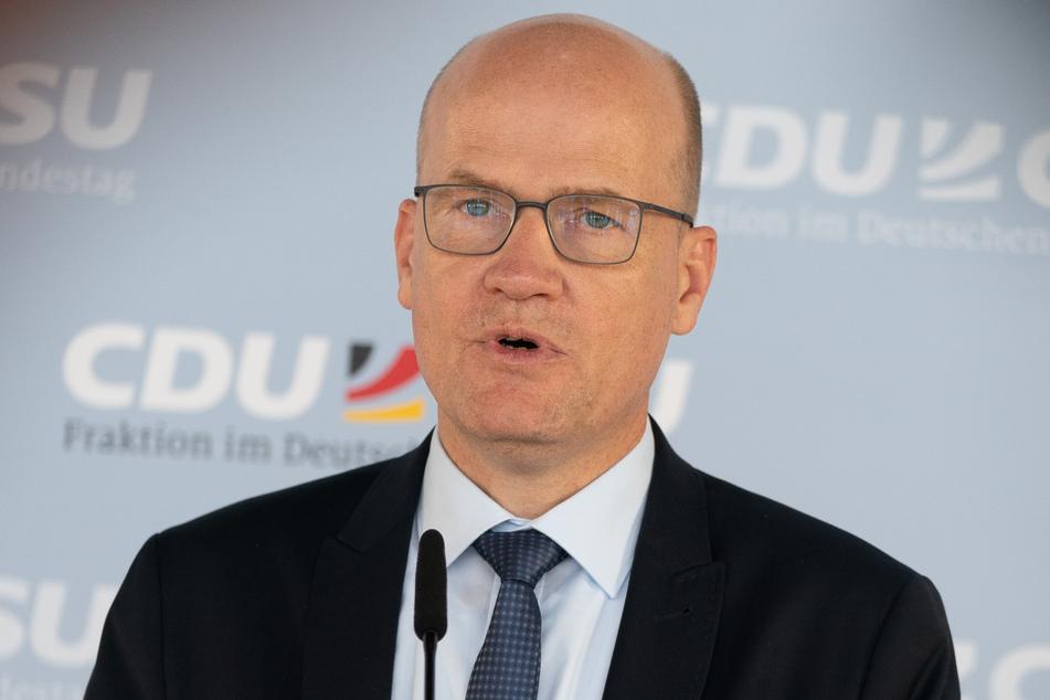 Unions-Fraktionsvorsitzende Ralph Brinkhaus (51). (Archivbild)