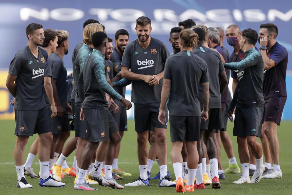 Die Stimmung beim FC Barcelona könnte vor dem CL-Duell gegen den FC Bayern München kaum besser sein.