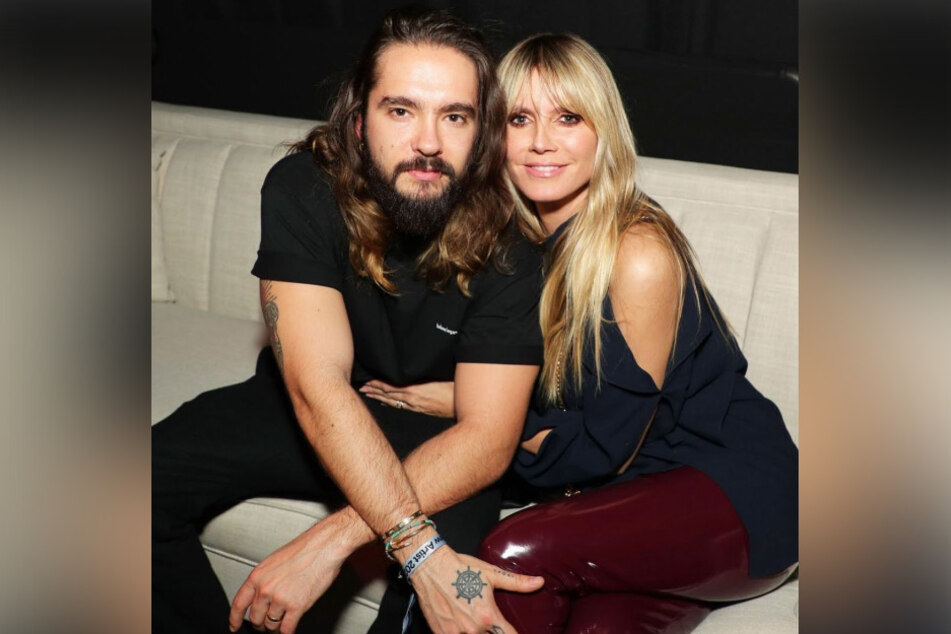 Heidi Klum (47, r.) and Tom Kaulitz (31) have been married since 2019.