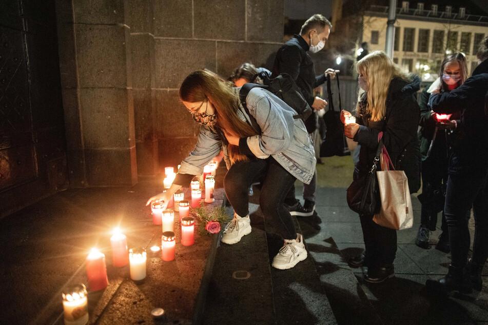 In Krefeld, der Heimatstadt des Mordopfers, fand am Freitag eine Gedenkveranstaltung für den Getöteten statt.