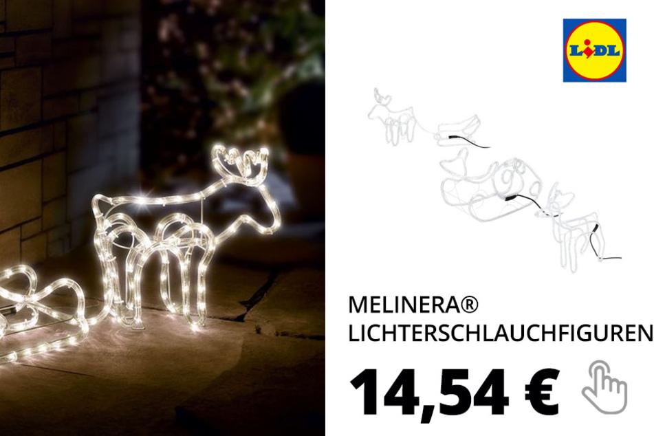 MELINERA® LED 3D Lichterschlauchfiguren