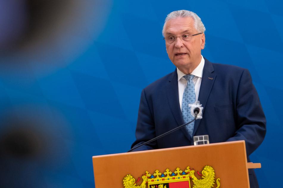 Innenminister Joachim Herrmann (64) pocht auf hohe Datenschutzanforderungen. (Archiv)