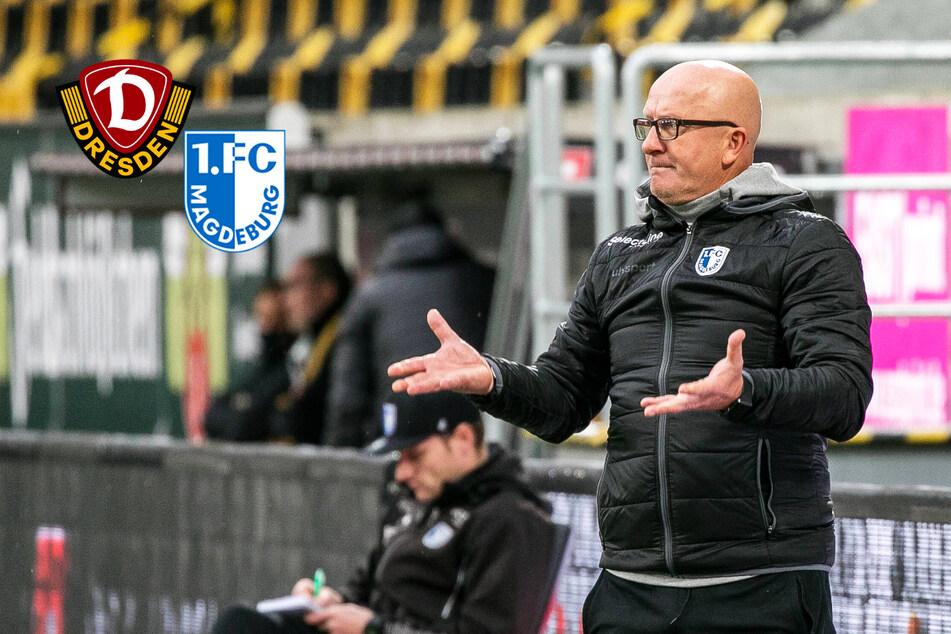 Entscheidet Dynamo über Hoßmangs Zukunft in Magdeburg?