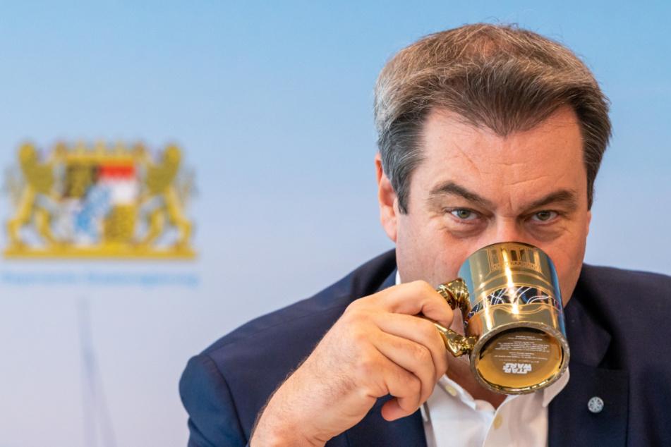 Flut an Corona-Anzeigen gegen Markus Söder beschäftigen Staatsanwaltschaft