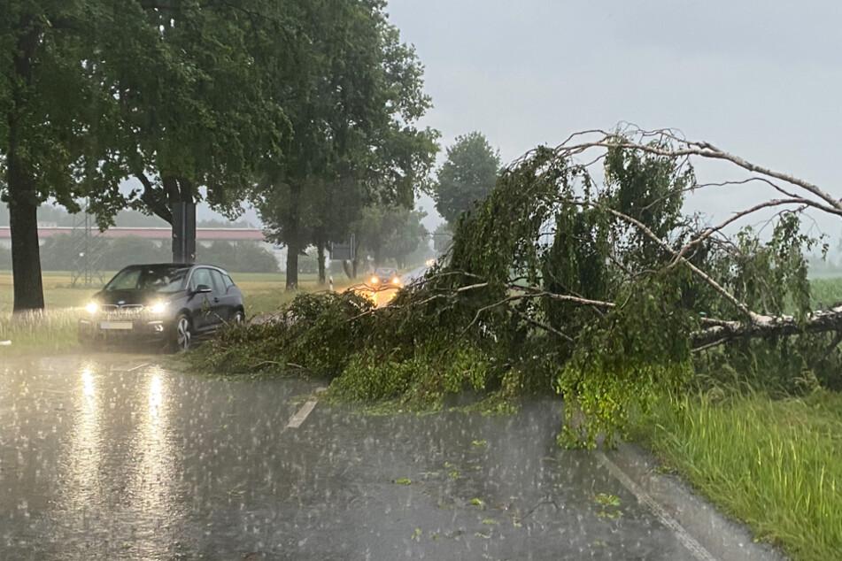 Unwetter in Bayern: Hunderte Einsätze für die Rettungsdienste