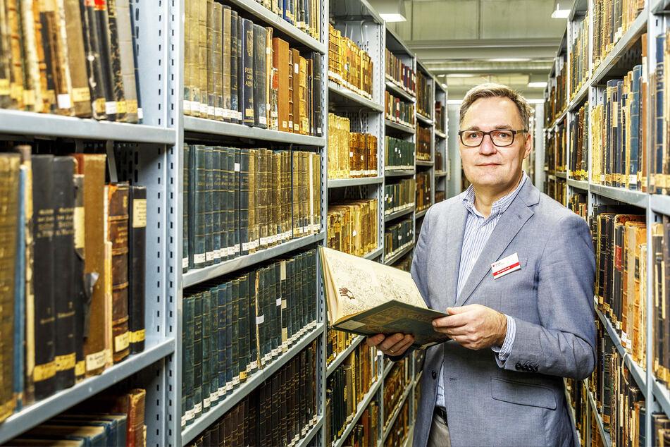 Dresden: Platzprobleme: SLUB weiß nicht, wohin mit all den Büchern!