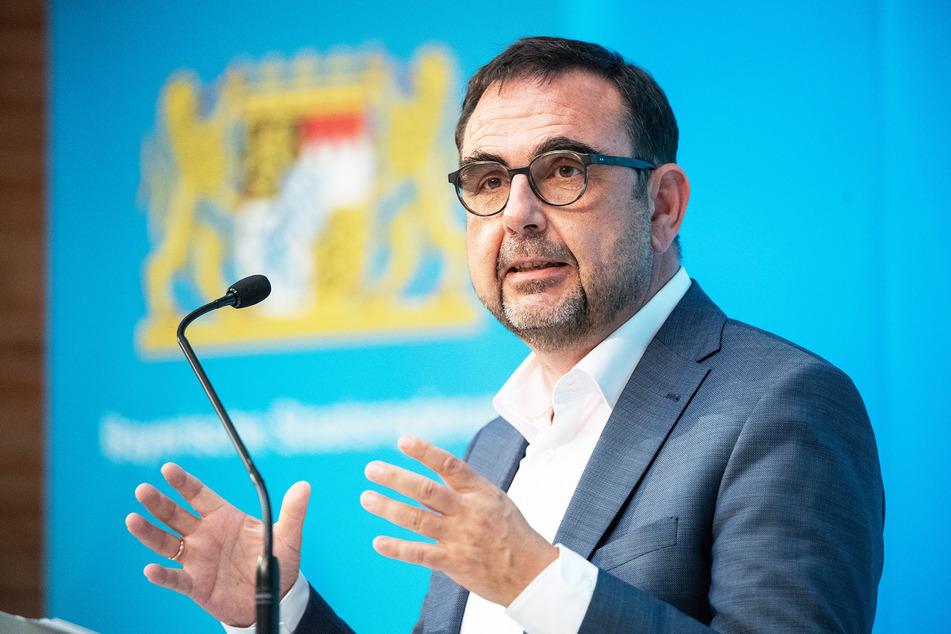Klaus Holetschek (56, CSU), bayerischer Gesundheitsminister, hofft, dass die Stiko ihre Impfempfehlung für Kinder und Jugendliche nun erweitert.