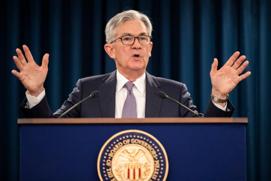 Jerome Powell, Vorsitzender der US-Notenbank Federal Reserve.
