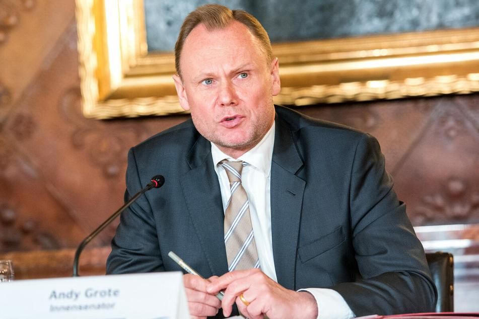 """Andy Grote (53, SPD) wurde auf Twitter als """"Pimmel"""" bezeichnet. (Archivbild)"""