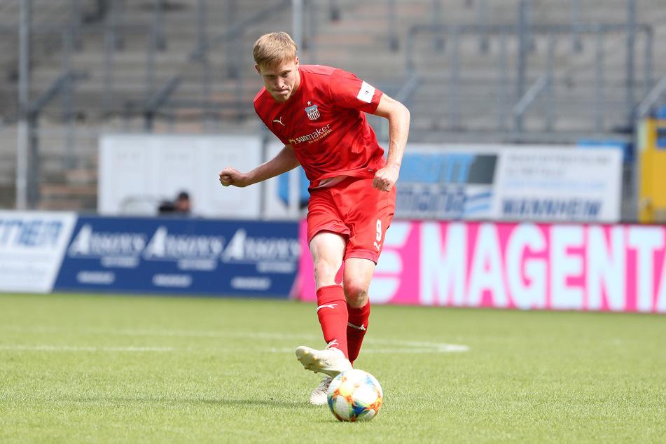 Verlässt vorzeitig den FSV Zwickau, will wieder in seine Heimat: Stürmer Gerrit Wegkamp (27).