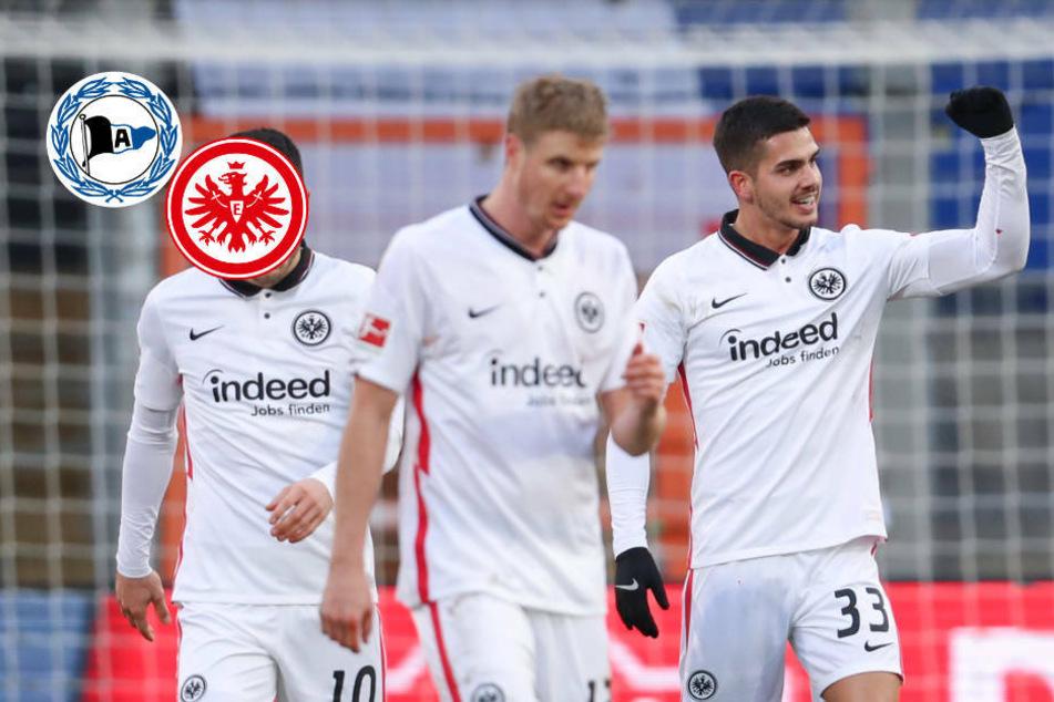 Eintracht Frankfurt schießt Arminia Bielefeld ab und ist auf Europakurs!