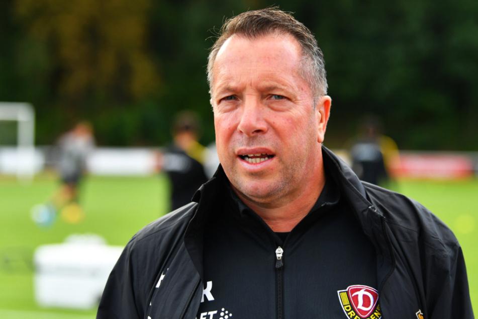 Dynamo-Coach Markus Kauczinski (50) ist wieder fit.