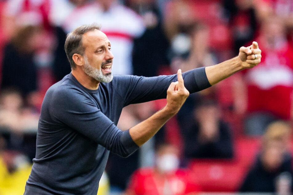 VfB-Chefcoach Pellegrino Matarazzo (43) fürchtet die Konter- und Offensivstärke von Bayer 04 Leverkusen.