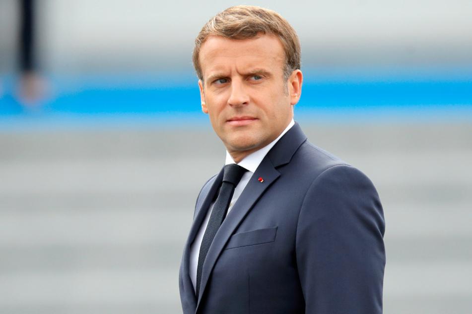 Emmanuel Macron (42), Präsident Frankreichs, ist wieder im Corona-Krisen-Modus.