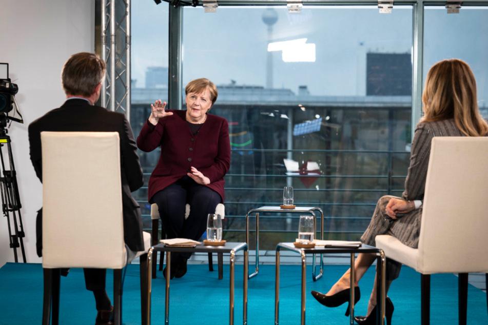 Bundeskanzlerin Merkel warnt und sieht doch Hoffnung in Corona-Krise