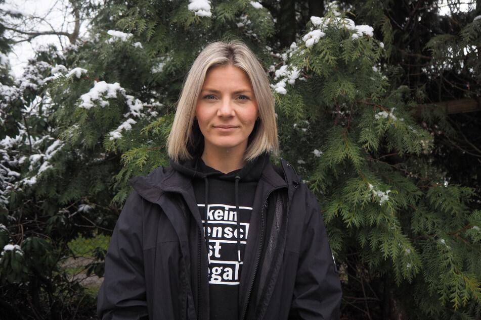 Lisa Steiner (32), Trauerbegleiterin für Kinder, ist mit der Cannabis-Politik unzufrieden.