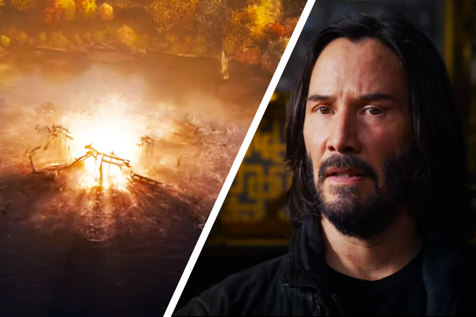 Der erste Trailer deutet die Fähigkeiten von Neo (Keanu Reeves, 57) mehr als nur an.