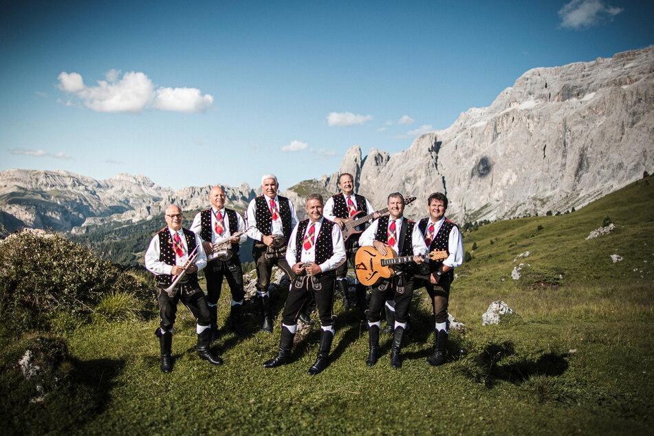 """Die """"Kastelruther Spatzen"""" aus Südtirol gehören zu den erfolgreichsten Volksmusik-Gruppen."""