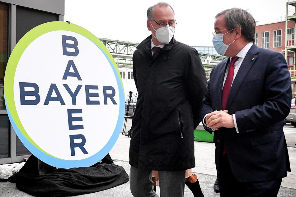 Bayer plant große Curevac-Impfstoff-Produktion ab Dezember