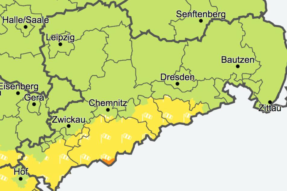 Der Deutsche Wetterdienst warnt vor Wind- und Sturmböen
