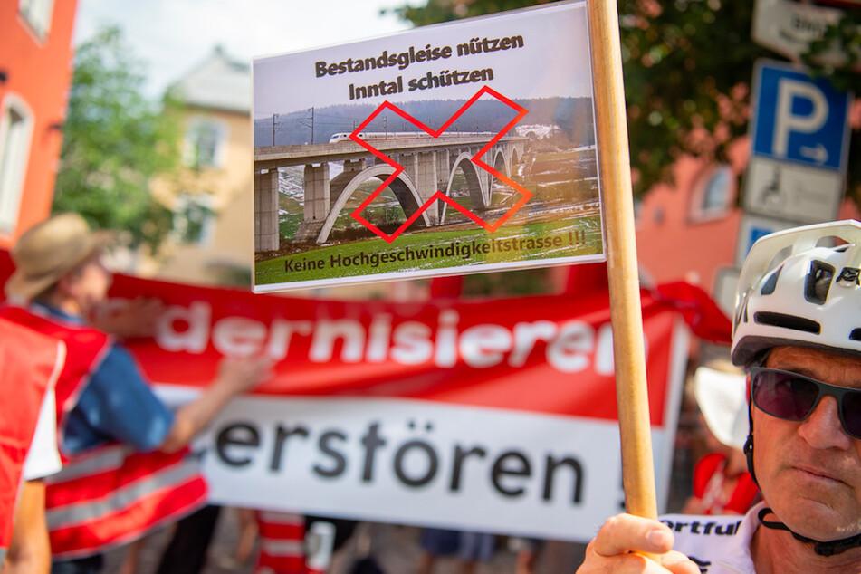 Was passiert nun im Inntal? Deutsche Bahn legt fünf Vorschläge für umstrittene Trasse vor