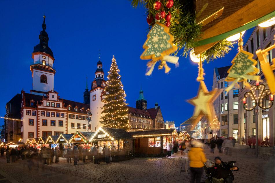 In Chemnitz steht die Entscheidung noch aus, ob und wie ein Weihnachtsmarkt stattfindet.