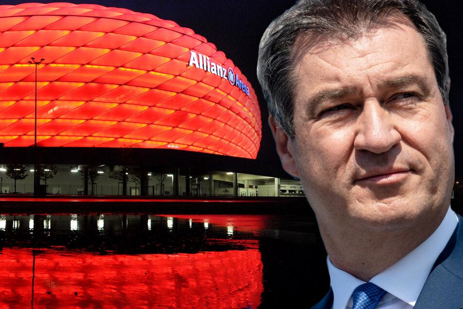 Spiele der EM 2021 mit zahlreichen Zuschauern in München? Markus Söder skeptisch