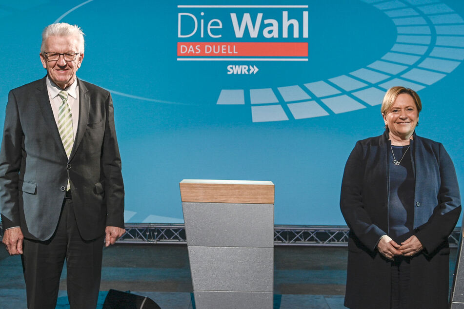 Kretschmann zu Zoff im TV-Duell um Öffnungspapier: Eisenmann hat es bekommen!