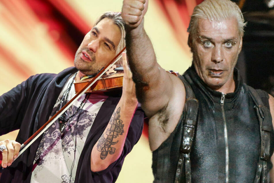 Rammstein-Sänger Till Lindemann macht gemeinsame Sache mit Star-Geiger David Garrett