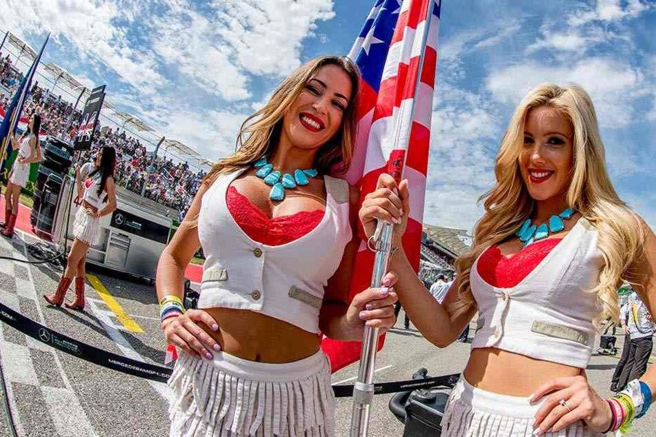 Grid Girls gehören seit Jahrzehnten zu den Formel-1-Rennen.