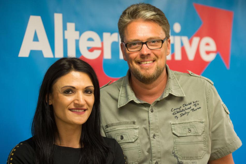 Die kurdische Rednerin Leyla Bilge kam fast nicht dazu, ihren Vortrag in Bielefeld zu halten.