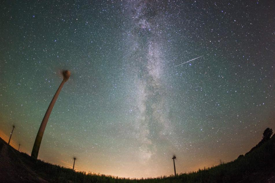 Magische Nacht! Am Mittwoch hagelt es Sternschnuppen