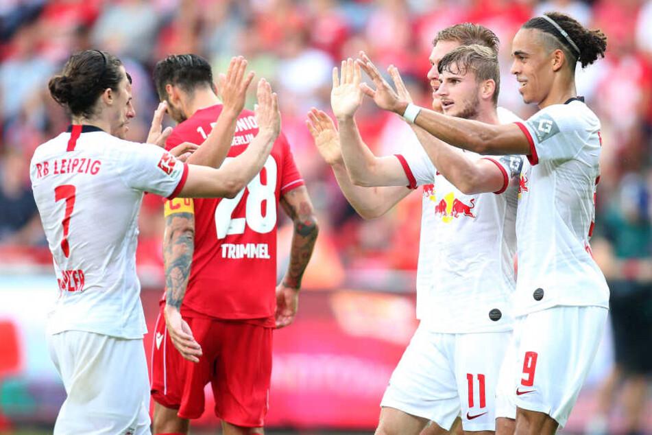 Der Champions-League-Teilnehmer fuhr mit einem lockeren 4:0 zurück nach Leipzig.