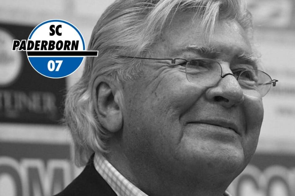 Trauer beim SC Paderborn: Ex-Präsident Wilfried Finke (†67) ist tot