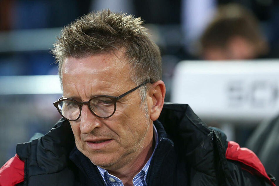 Die Begegnung mit seinem Ex-Verein hatte sich Norbert Meier anders vorgestellt.