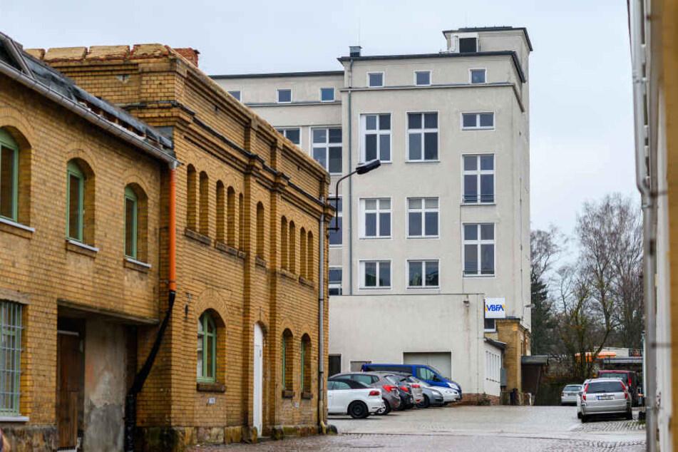 In der Waldenburger Straße entsteht bis zum Sommer die neue Handwerker-Oberschule.