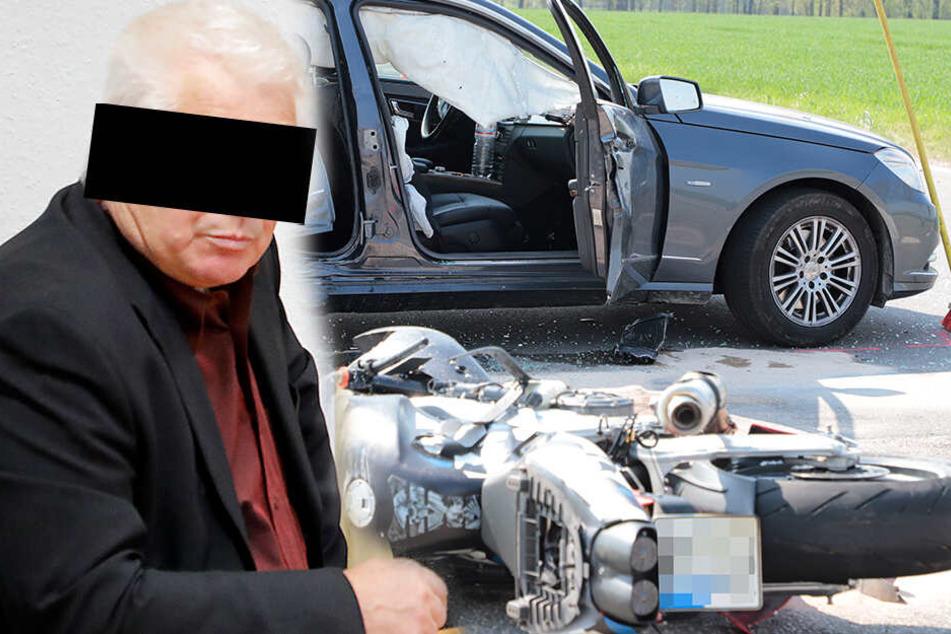 """""""Ich habe das Motorrad nicht gesehen"""": Todesfahrer verurteilt!"""