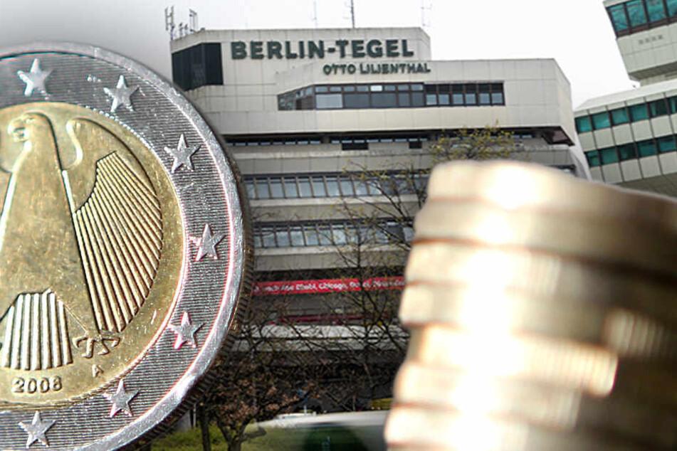 Wirtschaftsmacht Flughafen Tegel: Hier klingelt die Kasse!