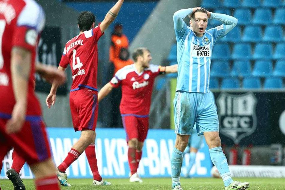 Daniel Frahn ärgerte sich darüber, dass zwei Tore nicht zum Sieg reichten.