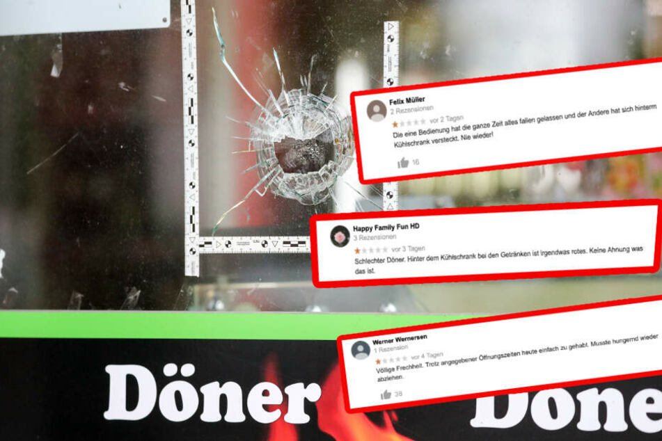 """""""Völlige Frechheit!"""" Ein User echauffierte sich, dass der Kiez-Döner am Tag nach dem Attentat nicht offen hatte."""
