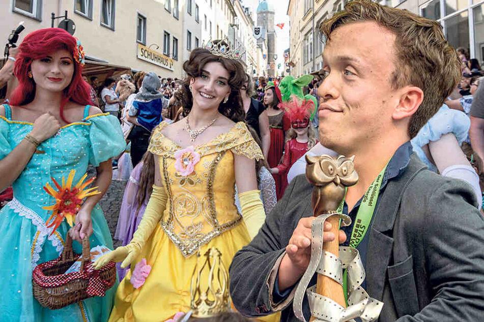 """Zehntausende Fans beim """"fabulix"""": Annaberg feiert märchenhaftes Finale"""